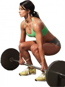 deadlift lady